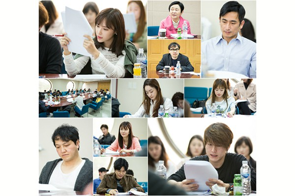 first script reading (April 15, 2014 @ SBS Ilsan Production Center)