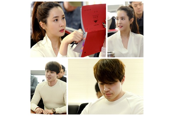 first script reading (mid Feb. 2014 @ Ilsan MBC Dream Centre)