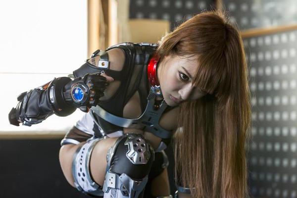 iron girl 2 ultimate weapon 2015 superheroine