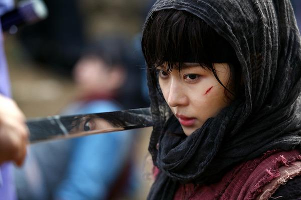 Yoo jiwon and han na to her 7