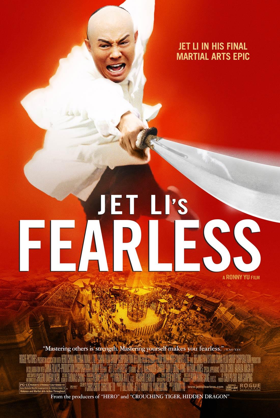 jet li fearless stream