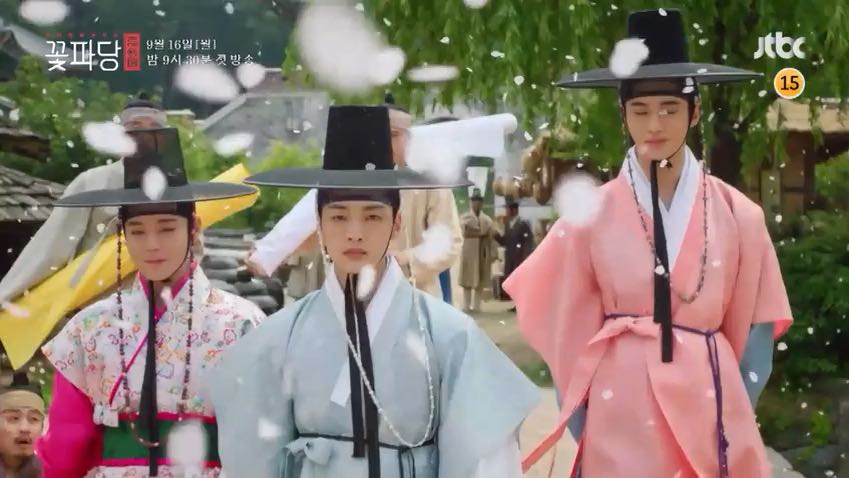 Kuvahaun tulos haulle Flower Crew: Joseon Matchmaking Maneuver Agency