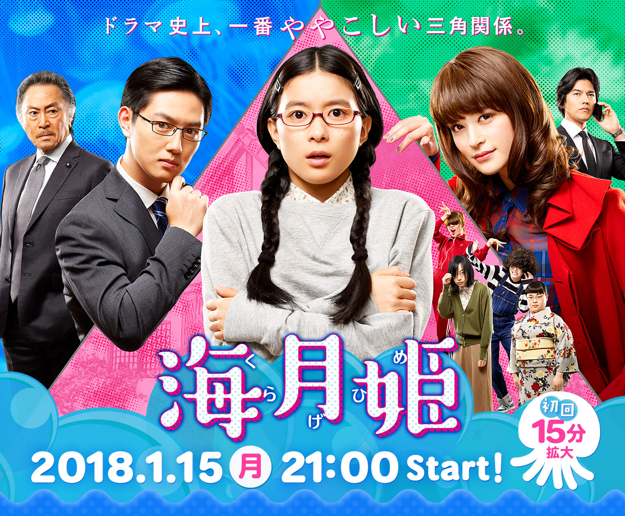 Princess Jellyfish (Japanese Drama) - AsianWiki