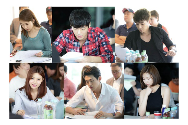 first script reading July 18, 2014 at CJ E&M Center