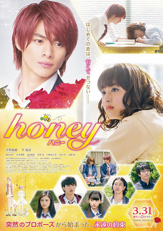 Honey Live Action (2018) Subtitle Indonesia
